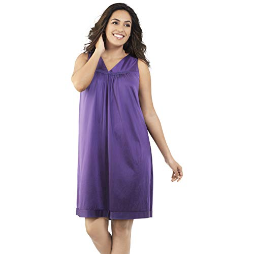 (Exquisite Form Women's Coloratura Short Gown 30107, Purple Potion, Medium)