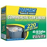 ProForce Commercial Trash Bags (220 ct.) 45-50 gal.