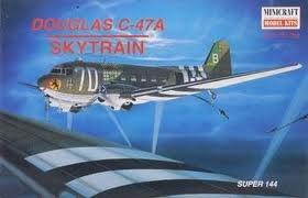 プラッツ 1/144 ダグラスC-47A スカイトレイン プラモデル MC14489