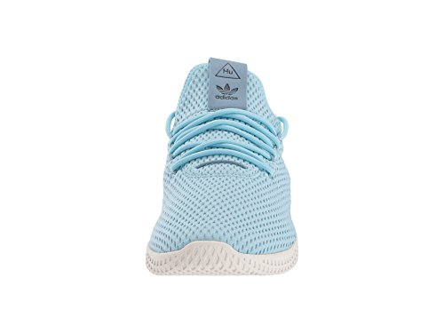 adidas Originals Men's Pharrell Williams Human Race Ice Blue/Ice Blue/Blue 4 D US by adidas Originals (Image #4)