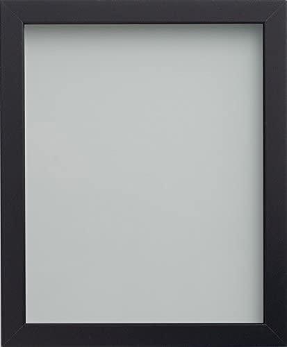 - fitted with perspex A3 Frame Company Photo Frame Wood White 16.5x11.75 inch