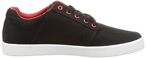 white Supra Black red Westway top Sneakers Low Adults' Unisex black a6Bwqz