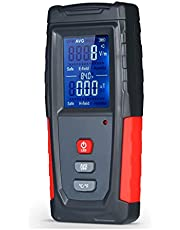 Yüksek Hassasiyetli El ni Dijital LCD EMF Test Cihazı Elektromanyetik Alan Radyasyon Metre Dozimetre Test Sayacı MAYIS