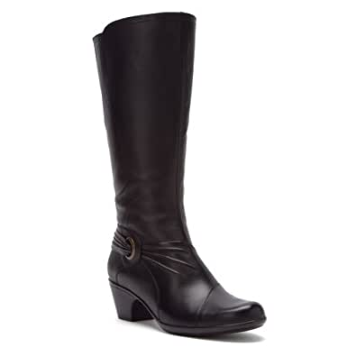 Clarks Women's Ingalls Excite Black 5 M US