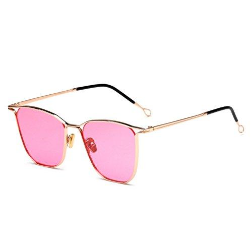 Hombre con metálica Montura Espejo e Sol Gafas Sol para Rana de de Trend con c RDJM y Gafas Mujer YfU7ZZa
