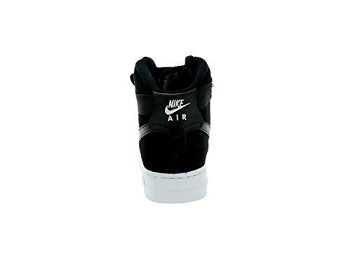 Nike Youth Air Force 1 High Boys Basketbalschoenen Zwart - Wit