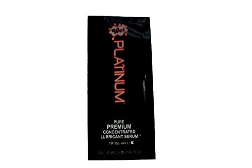 WET Platinum 4 ML 100 Individual Use Personal Lubricant Bulk Pack