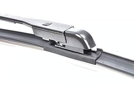 (650/350 mm) 2 x Limpiaparabrisas frontales Aero Set de repuesto de limpiaparabrisas articulado para parabrisas delantero con 9 x Easy Adaptador ...