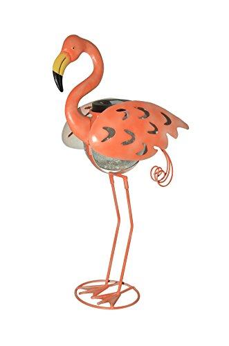 Moonrays 92524 Solar Powered Flamingo Garden Accent White LED Light (Flamingo Garden Decor)