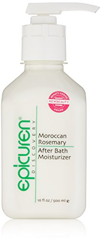 Epicuren Discovery Moroccan Rosemary After Bath Body Moisturizer, 16 Fl oz from epicuren DISCOVERY