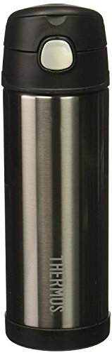 Thermos Funtainer 16 Ounce Bottle, Charcoal by Thermos