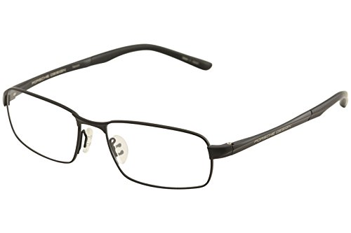 Porsche Design Eyeglasses P8212 P/8212 A Matte Black Titanium Optical Frame - Eye Porsche Glasses