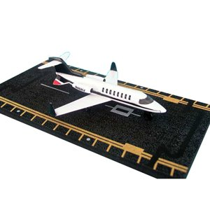 Hot Wings Private Jet with Connectible Runway (Small Model Airplanes)