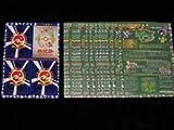 Complete Set Japanese Pokemon Vending Machine Series #3 Card Sheets 1-18(Green)