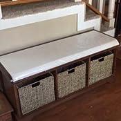 Amazon.com: Safavieh banca con cajones de almacenamiento en ...