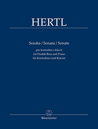 Czech Double Bass - Hertl: Double Bass Sonata