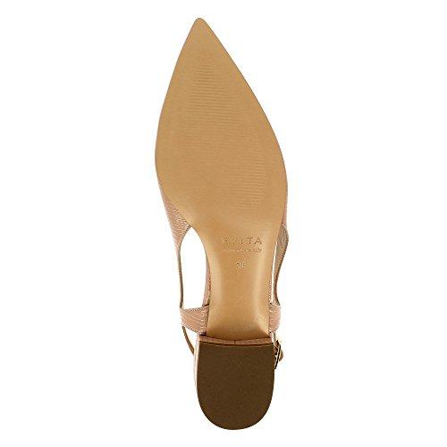 Evita Shoes Franca - Zapatos de vestir de Piel para mujer color carne