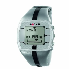 Polar FT4 Men's Heart Rate Monitor Silver/Black 90038070