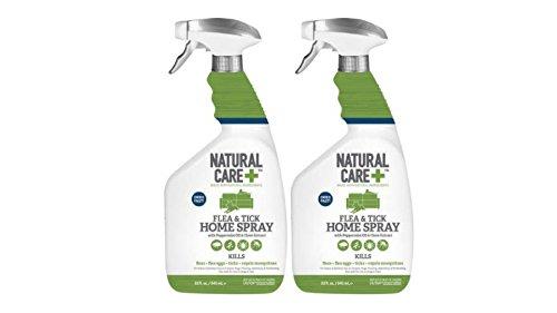 Natural Care+ Flea & Tick Home Spray, 32 Oz. (2)