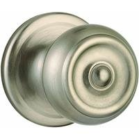 WEISER Lock GA101 P 15 MS 6LR1 Phoenix Passage Knob, Satin Nickel ()