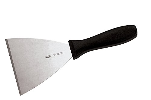 Paderno World Cuisine stainless steel triangular spatula, 3 1/8