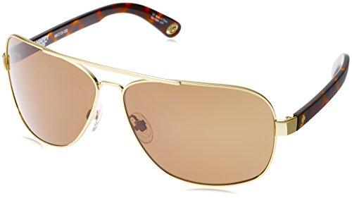 Spy Optic Showtime 672036214865 Aviator Sunglasses, 61 mm (Gold/Classic Tort/Happy - Sunglasses Spy Aviator