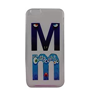 DK_iPhone 6 compatible Graphic/Transparent Back Cover
