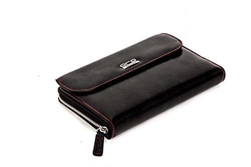 Oro Classics Elegante Executive Leather Travel Case