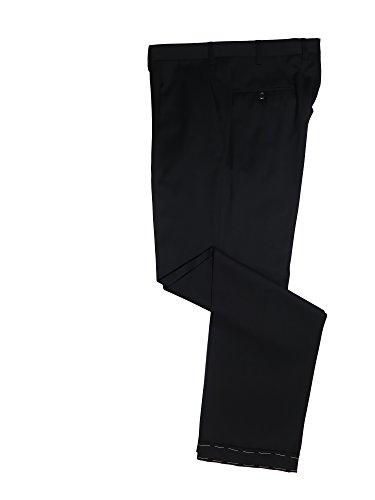 Brioni Delta Black Lightweight Wool Dress Pants 41 -