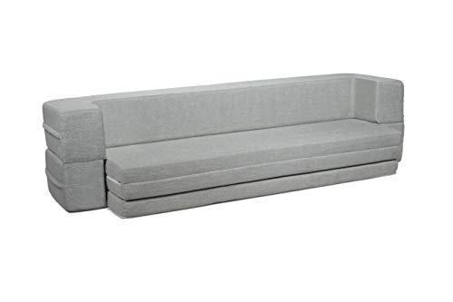 Milliard Daybed Sofa Queen to Twin Folding Mattress Couch
