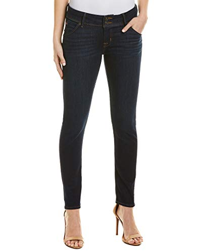 Hudson Jeans Womens Collin Classic Blue Skinny Ankle Cut, 25, Blue