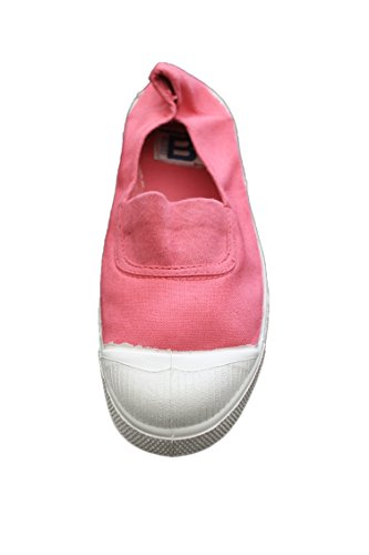 bensimon-ballerine elastique-rose foncée-femme