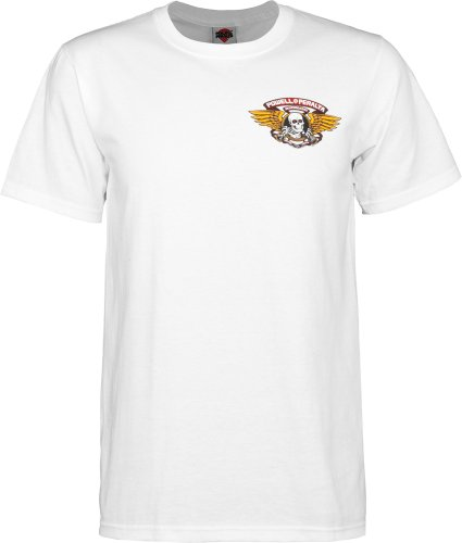 Powell T shirt Winged White Ripper Peralta xwqF0qnv1