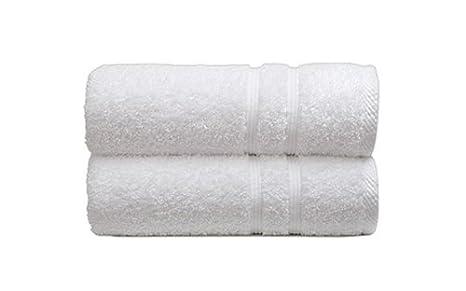 Sorema Basic - Toalla para tocador, de algodón, 30 x 50 cm, color blanco: Amazon.es: Hogar