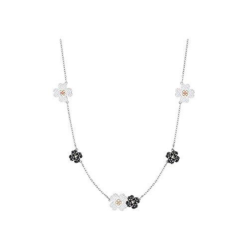 Swarovski Choker - Swarovski Crystal Latisha Mixed Plating Choker Necklace
