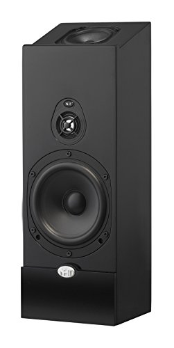 NHT Media Series 2-Way Dolby Atmos Satellite Speaker (Single) - High Gloss Black by NHT Audio