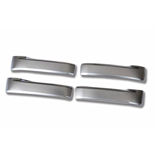 YUZHONGTIAN Door Inner Handle Cover Strip Trim 4pcs For Toyota Land Cruiser LC200 2008-2016