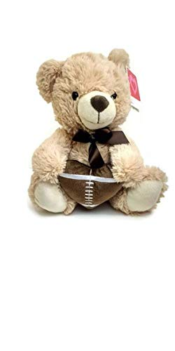 binarygirl310 I Love Football Teddy Bear!