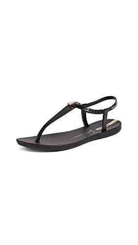 (Ipanema Women's Premium Lenny Desire Flat Sandal Black 9 M)