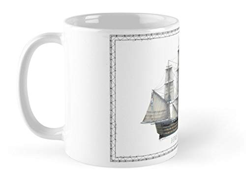 Hms Victory 1805 Tony Fernandes Mug - 11oz Mug - The best gift for family and ()