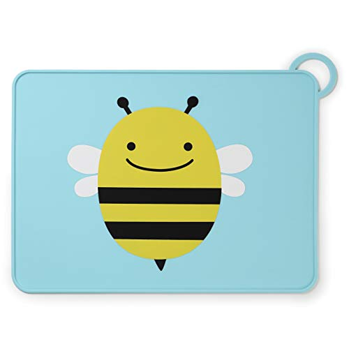 Skip Hop Silicone Placemats For Baby And Toddlers, Bee