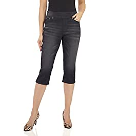 Women's Ease in to Comfort Fit Stretch Jean Capri