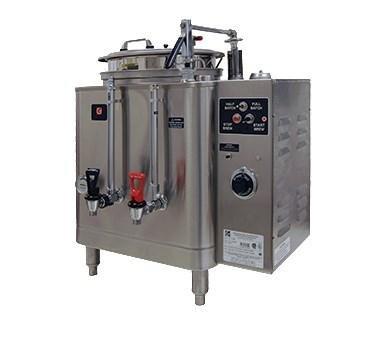 - Grindmaster Cecilware Coffee Brewer Urn Single, Electric, (1) 3 Gallon Capacity Liner - Specify Voltage