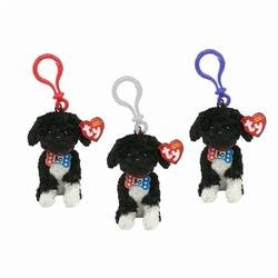 3cd93e1f49b Image Unavailable. Image not available for. Color  TY Beanie Baby Clips - BO  the Portuguese Water Dogs (Set ...