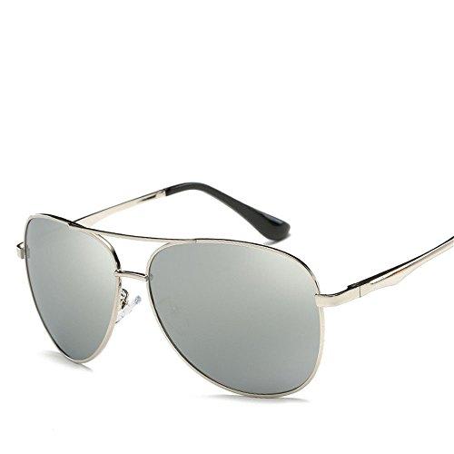 Chahua Lunettes de soleil brillant fashion lunettes rétro lunettes de métal