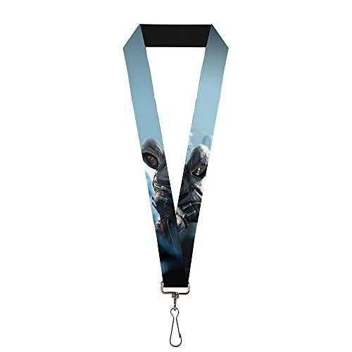 Assassin's Creed Ezio Lanyard | Swivel Hook Attachment - Made in the USA