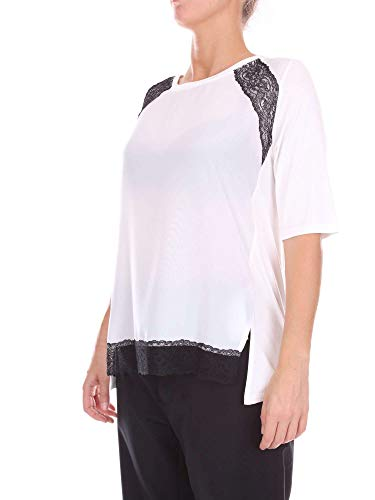 5611107 Cotone Donna Maglia Bianco Blugirl 7qxE6wU7