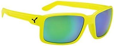 Cebe Dude Sunglasses Neon Yellow (Yellow) by Cb: