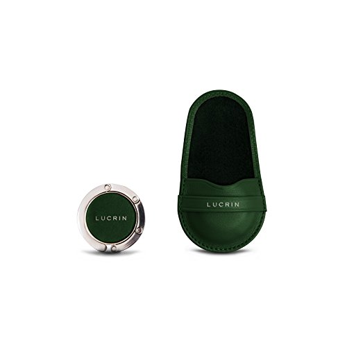 Cuoio Verde Lucrin Vacchetta Di Prima In Scelta Portaborse Liscia fxq7E8