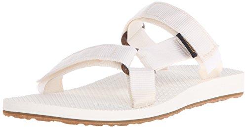 Universal Teva Sandales Bright White W's Femme Sport Slide de PqqdSwxACp